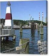 Port Jefferson Harbor Canvas Print