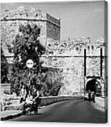 Porta Di Limisso Old Land Limassol Gate In The Old City Walls Famagusta Canvas Print