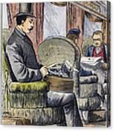 Portable Typewriter, 1889 Canvas Print