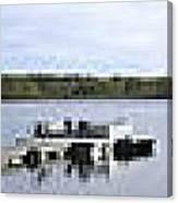 Portage Lake Panorama Canvas Print