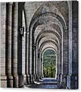 Portico From The Valley Of The Fallen Canvas Print