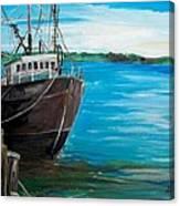 Portland Harbor - Home Again Canvas Print