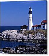Portland Head Inshore Canvas Print