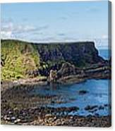Portnaboe Bay At Giants Causeway Canvas Print