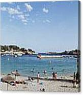 Porto Cristo Beach Canvas Print
