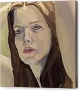 Portrait Of Ashley Canvas Print