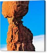 Portrait Of Balance Rock Canvas Print