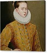 Portrait Of James I Of England And James Vi Of Scotland  Canvas Print