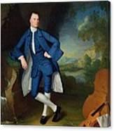Portrait Of Man Canvas Print