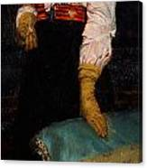Portrait Of Miss Macwirter Canvas Print