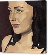 Portrait Of Solomia Canvas Print