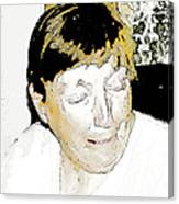 Portrait Of Tears 2 Canvas Print