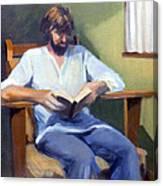 Portrait Study 1984 Canvas Print