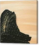 Portrait Variation In Beige - Willhelm Tell Canvas Print