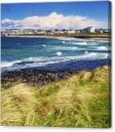 Portrush, Co Antrim, Ireland Seaside Canvas Print
