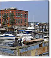 Portsmouth Waterfront Pwp Canvas Print