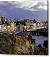 Portstewart, Co Derry, Ireland Seaside Canvas Print