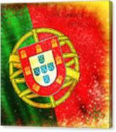 Portugal Flag  Canvas Print