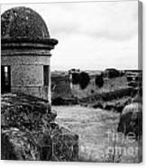 Portuguese Fortress Canvas Print