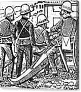 Posada: The Artillerymen Canvas Print