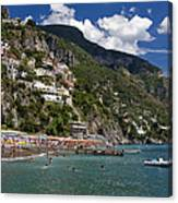 Positano Seaside Canvas Print