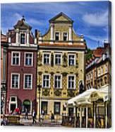 Posnan Shops - Poland Canvas Print