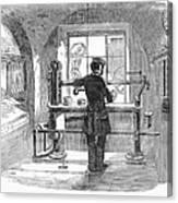 Post Office, 1856 Canvas Print