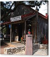 Post Office In Luckenbach Texas Canvas Print
