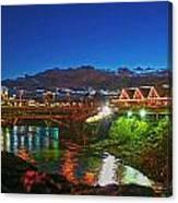 Post St Bridge Canvas Print