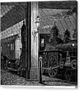 Postal Service, 1875 Canvas Print
