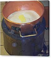 Pot Of Gold Caramel Canvas Print