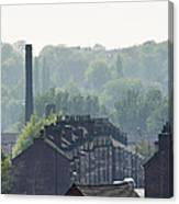 Potteries Urban Landscape Canvas Print