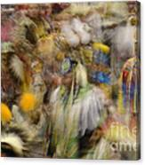 Pow Wow Color Canvas Print