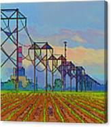 Power Plant Photo Art Canvas Print