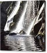 Powerscourt Waterfall, Powerscourt Canvas Print