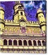 Poznan City Hall Canvas Print