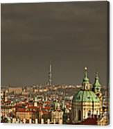 Prague - A Symphony In Stone Canvas Print