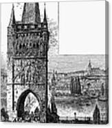 Prague: Carlsbridge Canvas Print