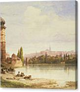 Prague Czechoslovakia Canvas Print