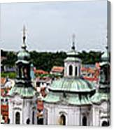 Prague Panorama Canvas Print