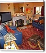 Prairie House Interior Canvas Print