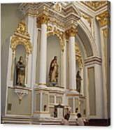 Prayers Of The Faithful Canvas Print