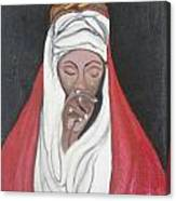 Praying Woman-oil Painting Canvas Print