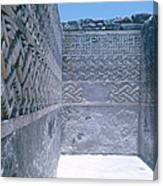 Prehistoric Ruins Of Mitla Canvas Print