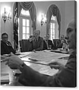 President Gerald Ford And National Canvas Print