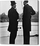 President Roosevelt And Gifford Pinchot Canvas Print