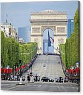 President Sarkozy Canvas Print
