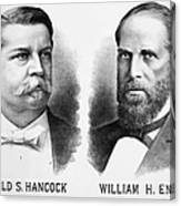 Presidentail Campaign, 1880 Canvas Print