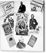 Presidential Campaigns Canvas Print