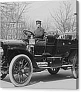 Presidents Tafts,white Touring Car That Canvas Print